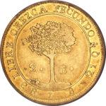 Золотая монета 2 Эскудо (2 Escudos) ЦАР
