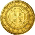 Золотая монета 100 Эскудо (100 Escudos) Испания