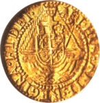 Золотая монета ¼ Angel (1/4 ангела) Великобритания