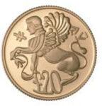 Золотая монета 20 Фунтов (20 Pounds) Кипр