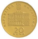 Золотая монета 20 Кун (20 Kuna) Хорватия