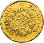 Золотая монета ¾ Дуката Германия