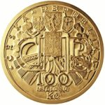 Золотая монета 100 000 Крон (100 000 Korun) Чехия