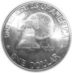 Серебряная монета 1 Доллар (One Dollar) США