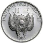 Серебряная монета 10 Франков (10 Francs) Нигер
