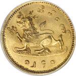 Золотая монета 5 Му (5 Mu) Бирма