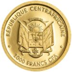 Золотая монета 1000 Франков (1000 Francs) ЦАР