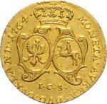 Золотая монета 1 Дукат (1 Dukat) Курляндия