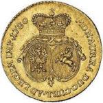 Золотая монета 2 Дуката (2 Dukats) Курляндия