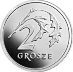 Серебряная монета 2 Гроша (2 Grosze) Польша