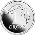 Серебряная монета 1 Грош (1 Grosz) Польша