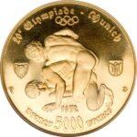 Золотая монета 5000 Франков (5000 Francs) ЦАР
