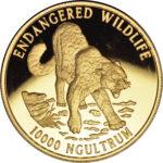 Золотая монета 10 000 Нгултрумов (10 000 Ngultrums) Бутана