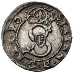 Серебряная монета Шеляг (1/3 Гроша) Средневековой Польши