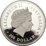 Платиновая монета 200 долларов Австралии