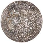 Серебряная монета Грош Средневековой Польши