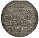 Серебряная монета Трояк (3 гроша) Средневековой Литвы