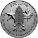 Серебряная монета 2 Доллара Канады