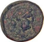 Медная монета Дихалк Древней Греции