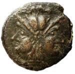 Медная монета Асс Древней Греции