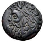 Медная монета Борисфен Северного Причерноморья