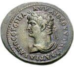 Медная монета AE 32 древнего Рима
